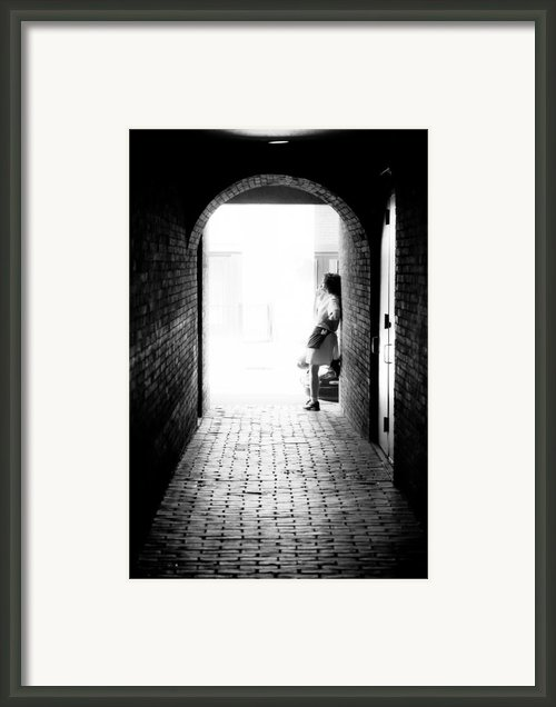 Smoke Break Framed Print By Edward Myers