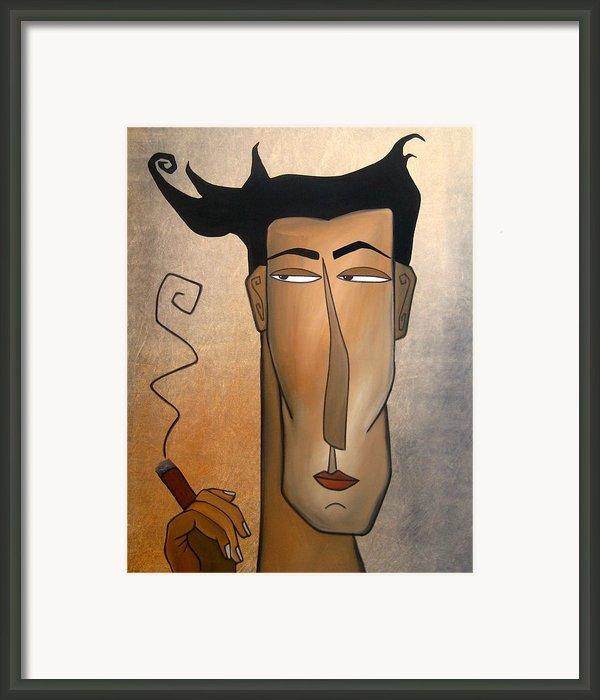 Smoke Break Framed Print By Tom Fedro - Fidostudio