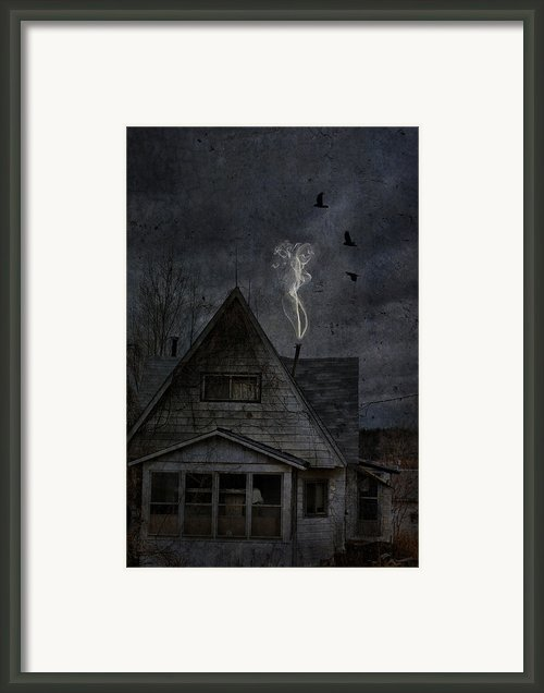 Smokey Abandon Framed Print By Emily Stauring