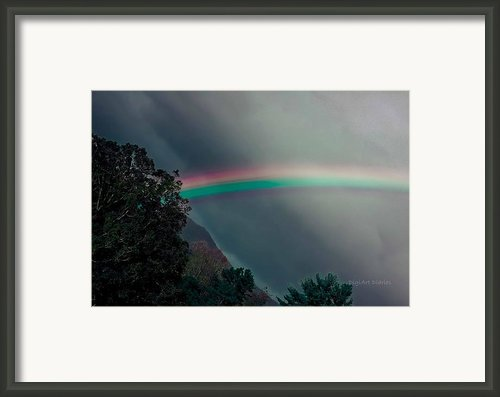 Smokey Mountain Majesty Framed Print By Digiart Diaries By Vicky Browning