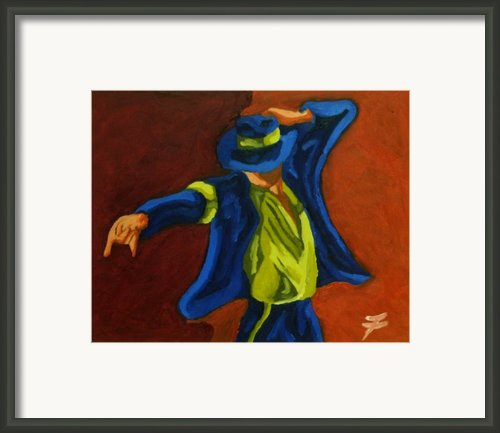 Smooth Criminal Framed Print By Jason Jafleu Fleurant