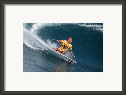 Smooth Operator Framed Print By Kevin Smith