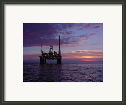 Snorre Sunset Framed Print By Charles Morrison
