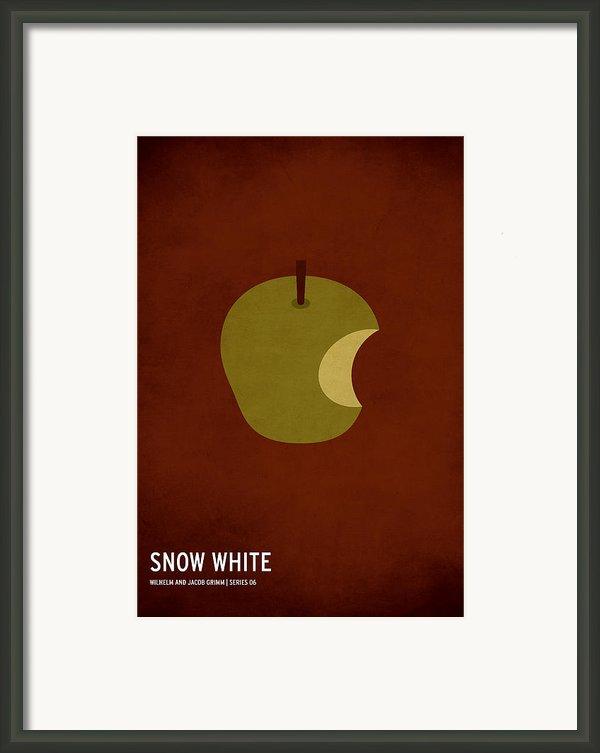 Snow White Framed Print By Christian Jackson