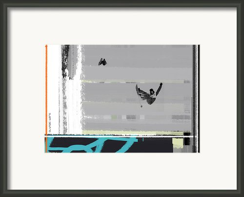 Snowboarding Framed Print By Irina  March