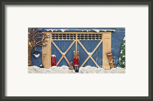 Snowed In Framed Print By Anne Klar