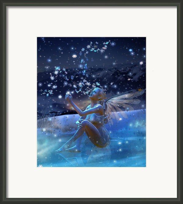 Snowflake Framed Print By Karen H