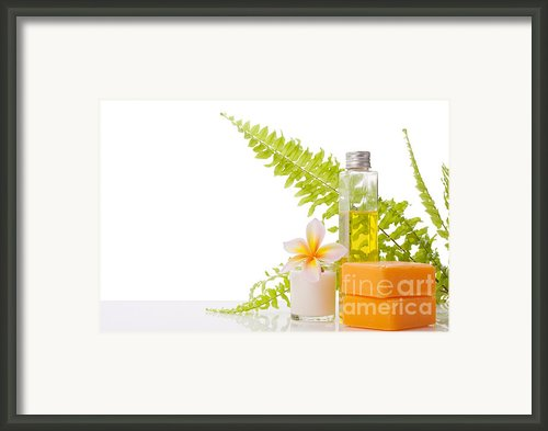 Soap Framed Print By Atiketta Sangasaeng