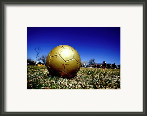 Soccer Season Starts Framed Print By Scout J Photography