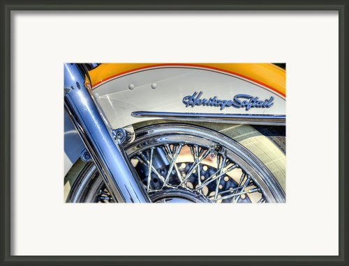Softail Framed Print By Scott Norris