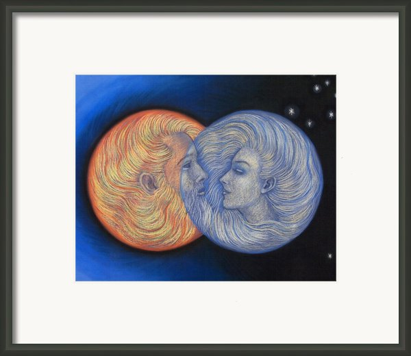 Solar Eclipse Framed Print By Sue Halstenberg