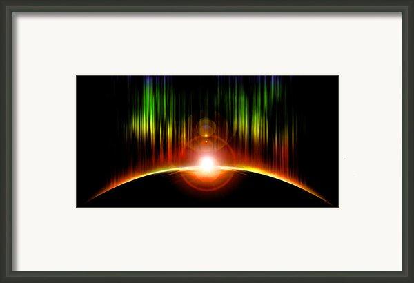 Solar Eclipse Framed Print By Svetlana Sewell