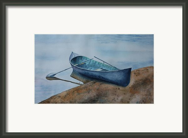 Solitude Framed Print By Patsy Sharpe