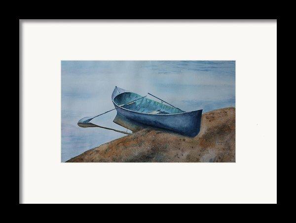 Solitude Framed Print By Patsy Sharpe