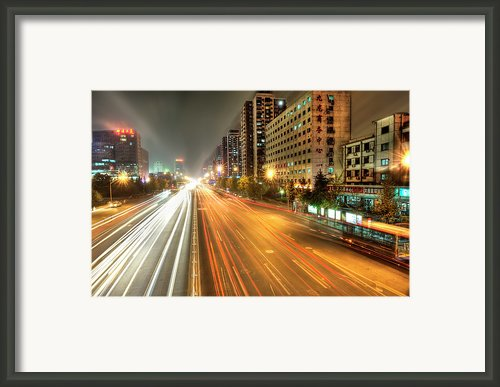 Some Beijing Street Framed Print By Tony Shi Photography
