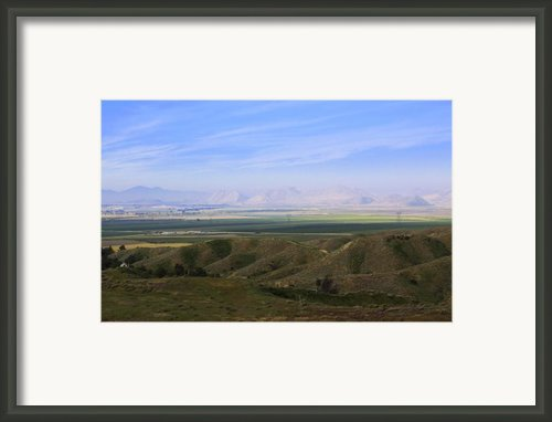 Somewhere In Riverside  Ca Framed Print By Viktor Savchenko