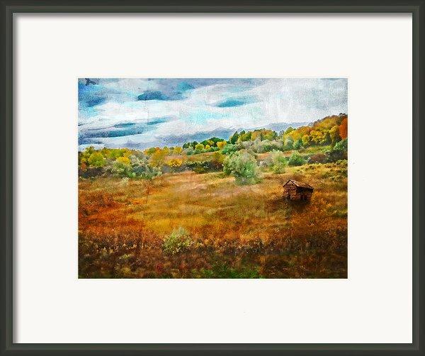 Somewhere In September Framed Print By Brett Pfister