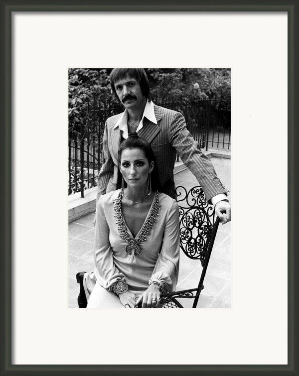 Sonny & Cher, Sonny Top, Cher Bottom Framed Print By Everett