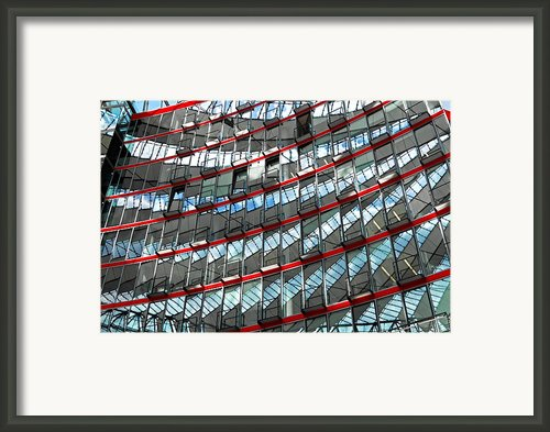 Sony Center - Berlin Framed Print By Juergen Weiss