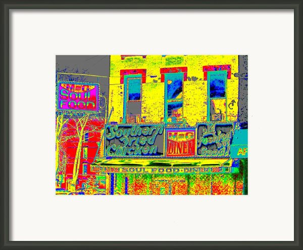 Soul Food Framed Print By Steven Huszar