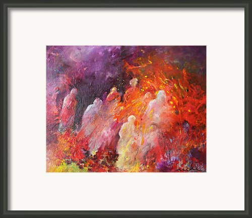 Souls In Hell Framed Print By Miki De Goodaboom