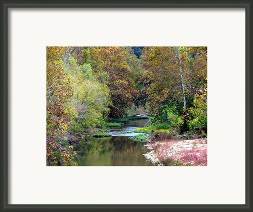 South Harpeth Framed Print By Kay Sawyer