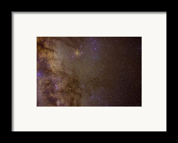 Southern Milky Way Framed Print By Charles Warren