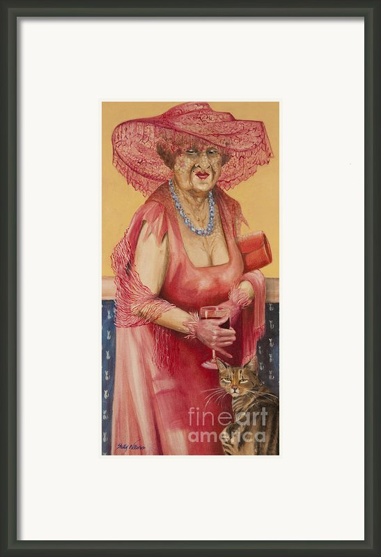 Southern Rose Framed Print By Shelly Wilkerson