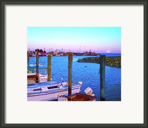 Southport Lights Framed Print By Garland Johnson