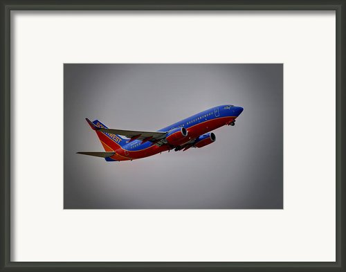 Southwest Departure Framed Print By Ricky Barnard