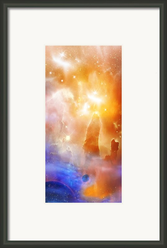 Space 007 Framed Print By Svetlana Sewell