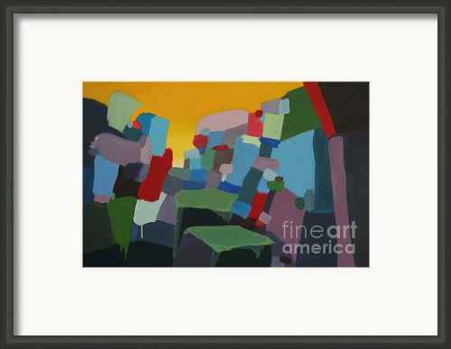 Space And Time Framed Print By Dan Lockaby