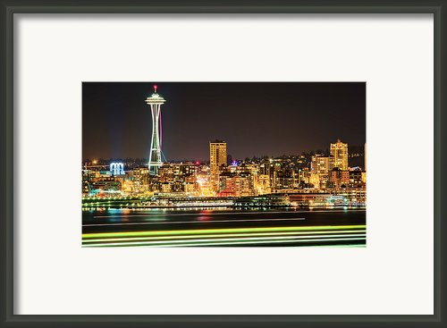 Space Needle Framed Print By Stephen Kacirek