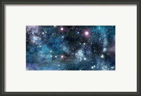 Space003 Framed Print By Svetlana Sewell