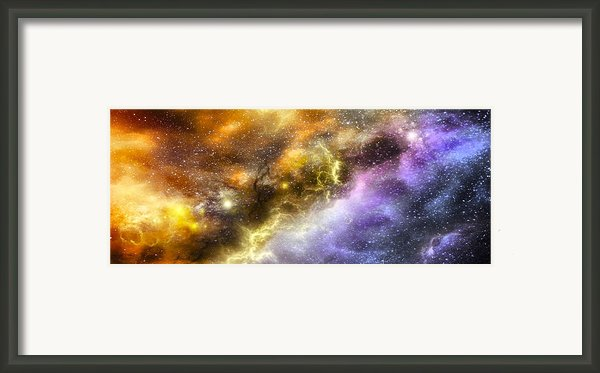 Space005 Framed Print By Svetlana Sewell