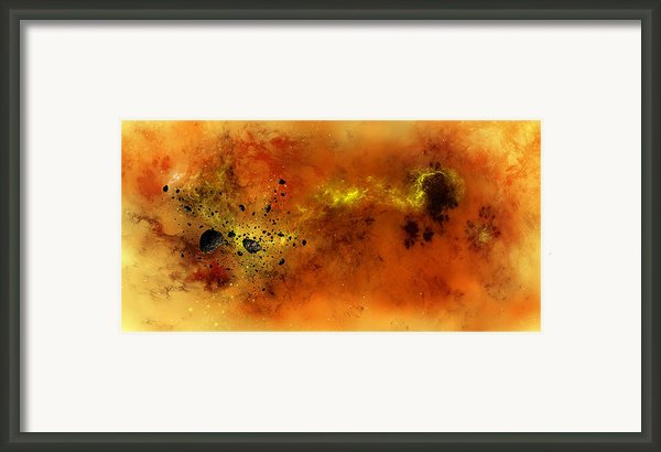 Space012 Framed Print By Svetlana Sewell