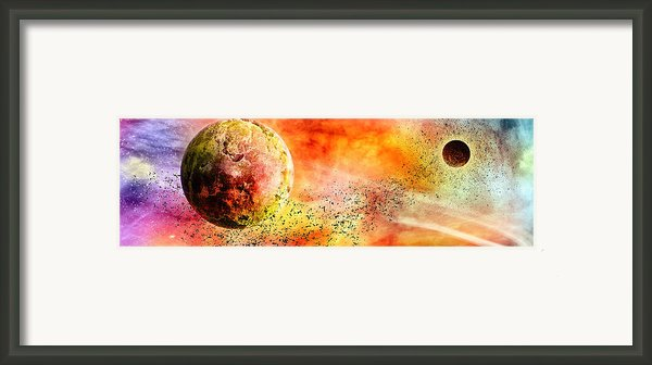 Space013 Framed Print By Svetlana Sewell