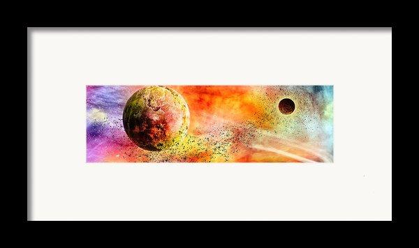 Space013 Framed Print By Svetlana Sewell