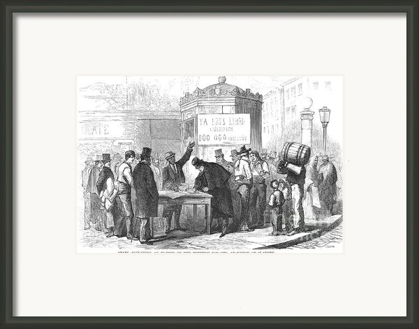 Spain: Abolitionists, 1869 Framed Print By Granger