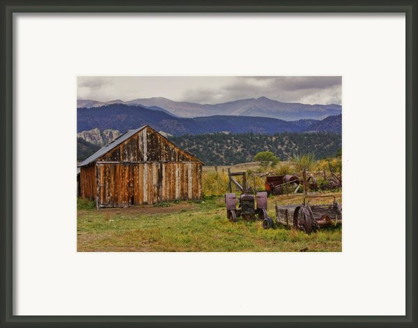 Spanish Peaks Ranch 2 Framed Print By Charles Warren
