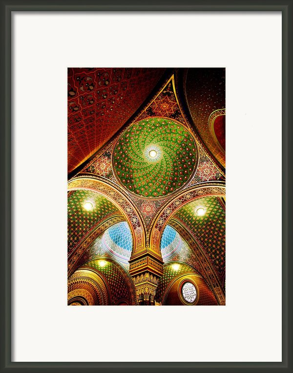 Spanish Synagogue Framed Print By John Galbo