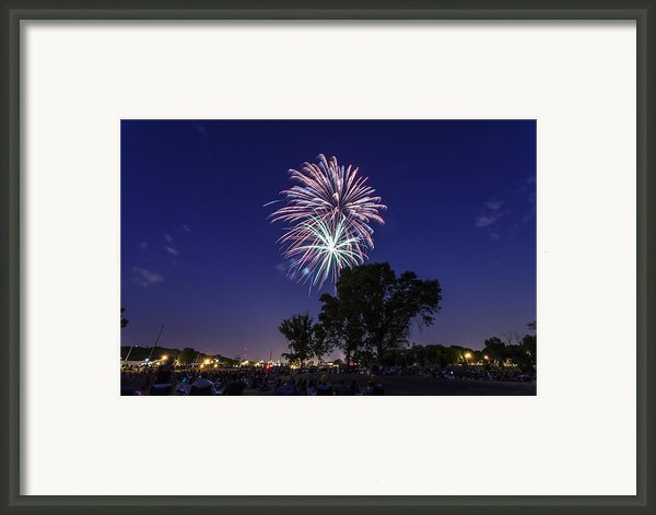 Spark And Bang Framed Print By Cj Schmit