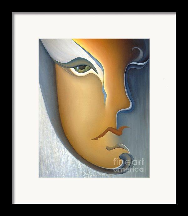 Speak No Evil Framed Print By Joanna Pregon