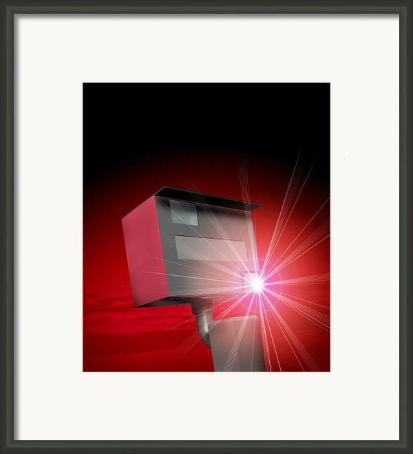 Speed Camera Framed Print By Victor Habbick Visions