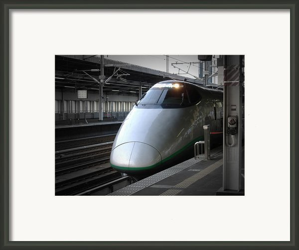 Speed Train Framed Print By Irina  March