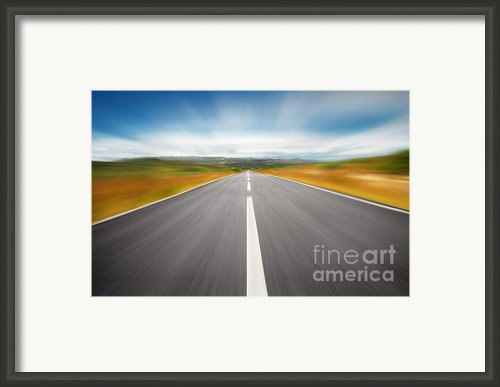 Speedyway Framed Print By Carlos Caetano