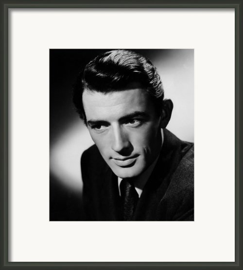 Spellbound, Gregory Peck, 1945 Framed Print By Everett