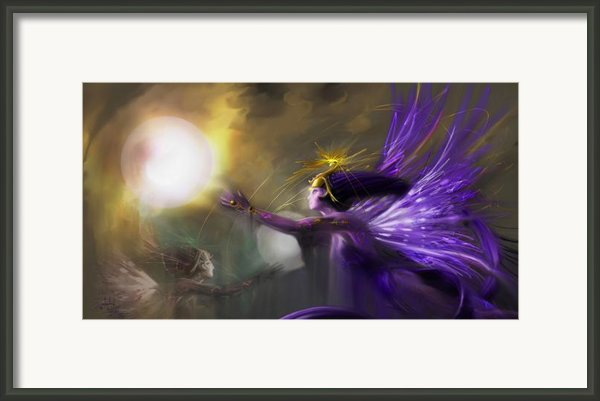 Sphere Makers Of Emergging Consciousness Framed Print By Stephen Lucas