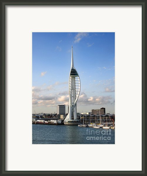 Spinnaker Tower Framed Print By Jane Rix