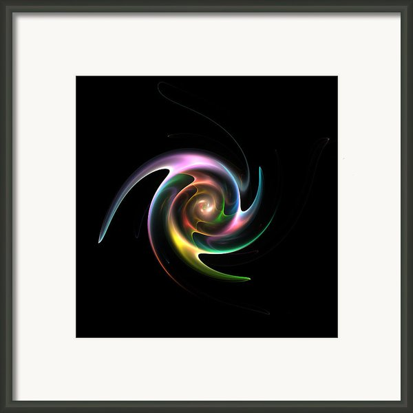 Spinning Galaxy Framed Print By Stefan Kuhn